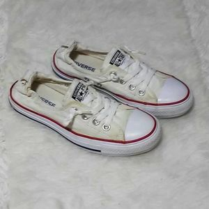 Converse Women's Chambray Off White Sneaker US 7